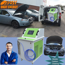 CCS1000 mobile service car engine wash decarbonizing system