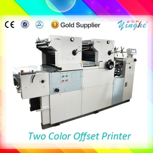 Multi-color printing 2 color digital offset printer price