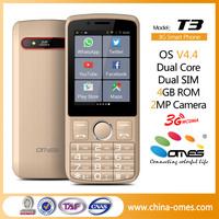 2 Sim Dual Core 2.8inch Special Pda Old man Android cellphone