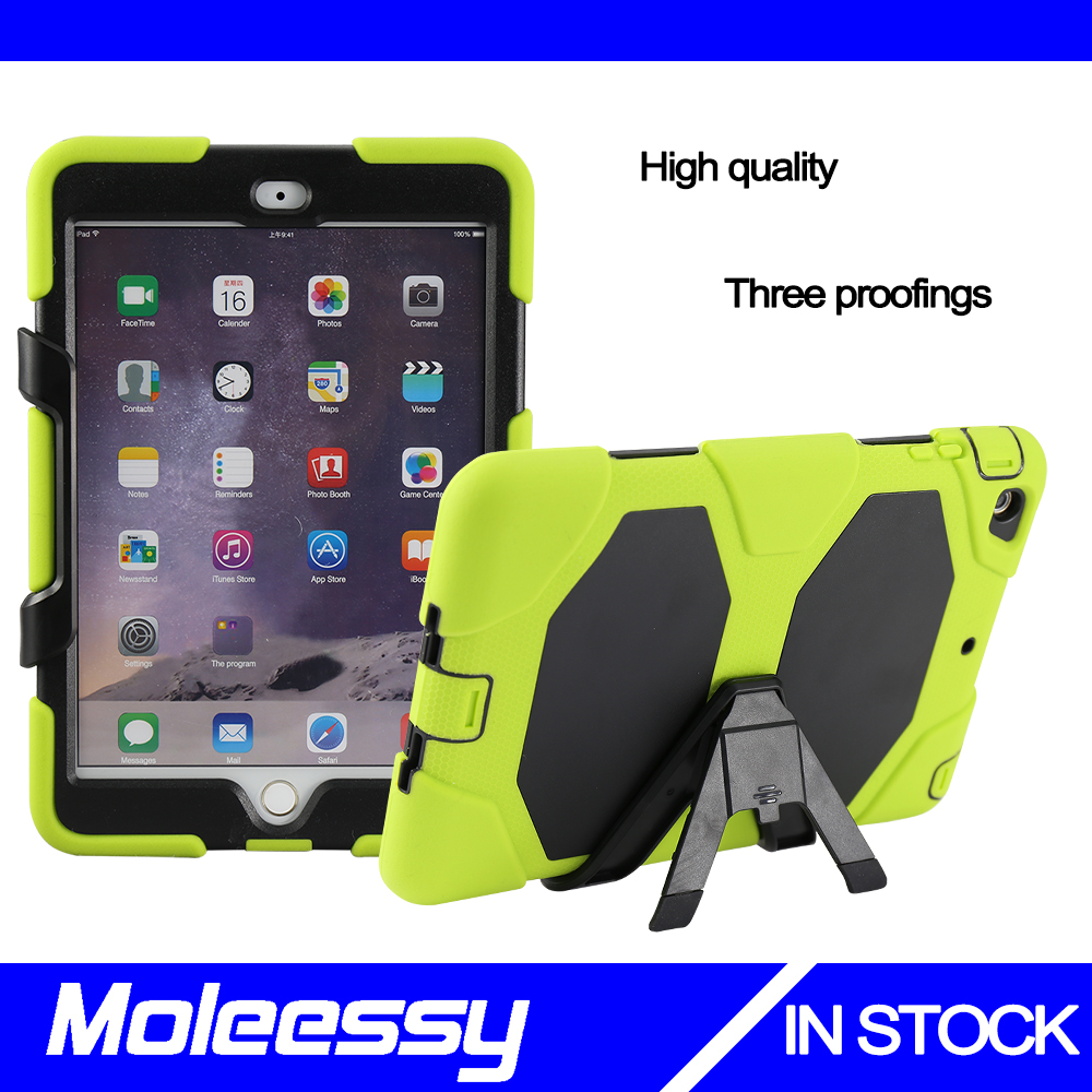 China wholesale waterproof bumper cover case for Ipad Mini 3 stand case
