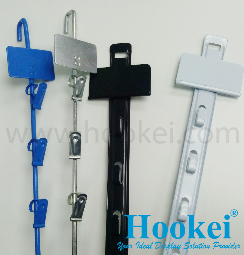 Metal Hanging Clip Strip for Retail Display