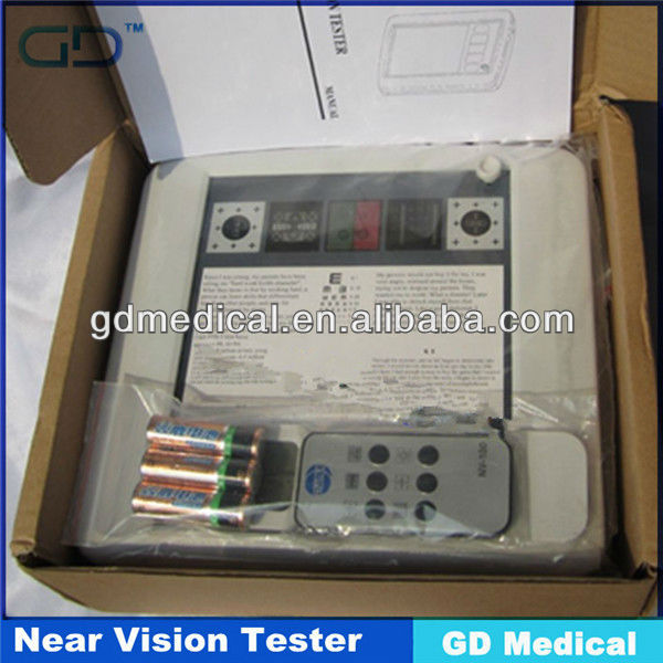 001 Professional vision testing software