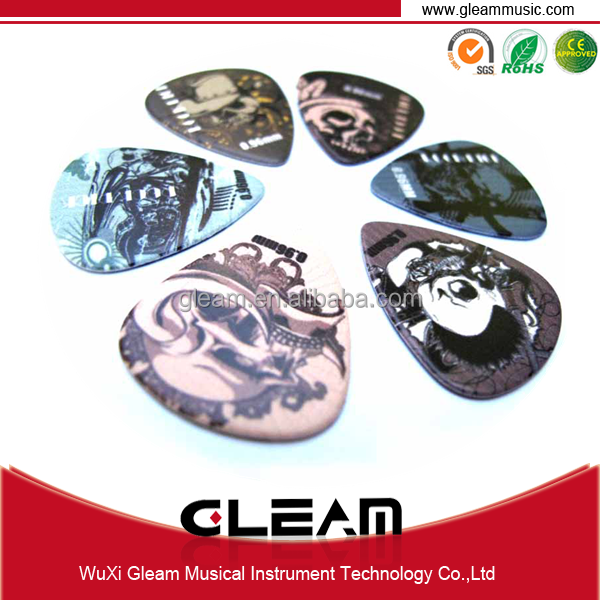 Color Printing Personalized Guitar Pick With High Quality