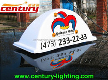 new product taxi roof top advertising sign