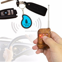 3 in1 wireless electronic anti-lost security alarm key chain key finder for finding 3 different items, built-inbattery locator r