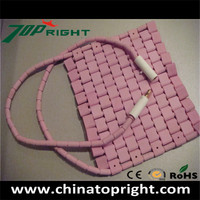 ceramic flexible pad heater; ceramic bead;industrial heater;welding heat