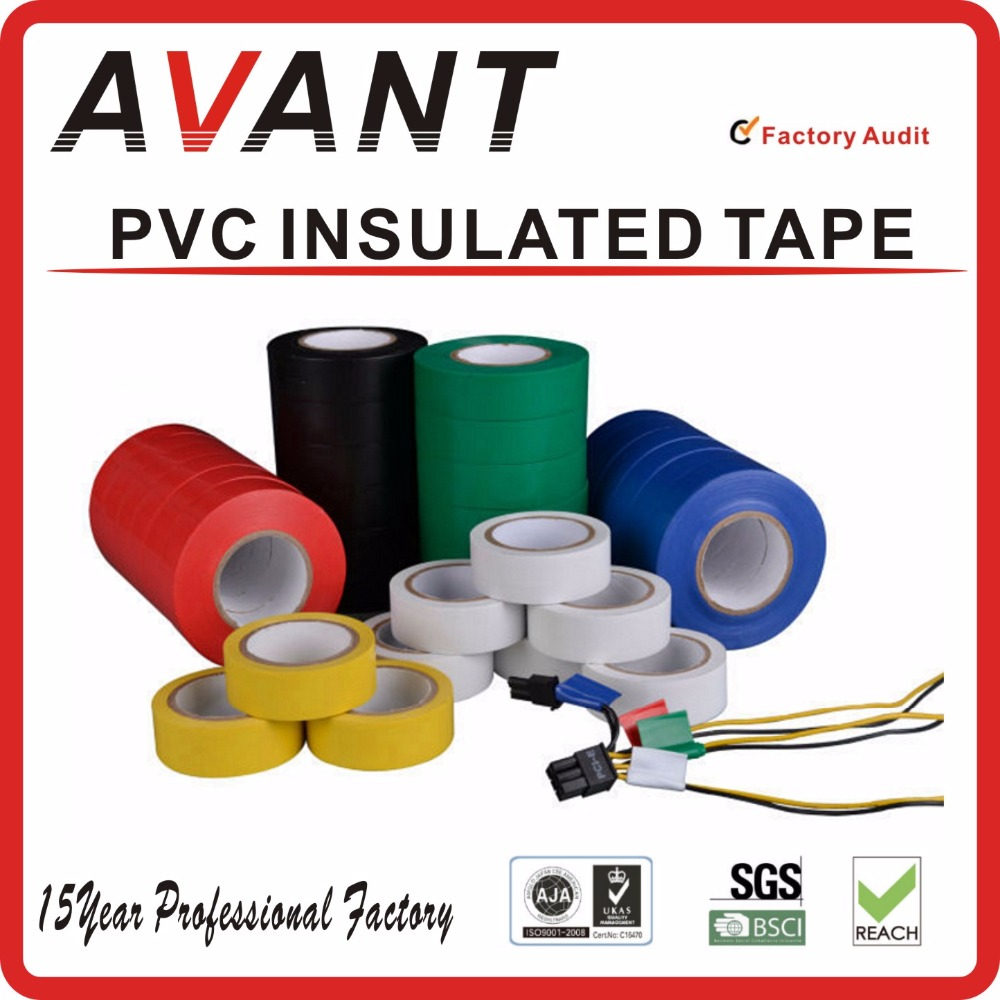 ROHS standard wonder pvc electrical insulation tape/electrical tape