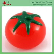 TPR material sticky tomato splat ball toy for kids