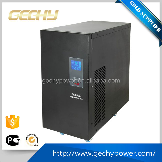 BE 5KVA 3500w LCD Smart Online UPS battery 96V Line Interactive industrial Power Supply/UPS