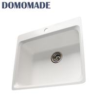 Latest hot selling heated high temperature composite resistant kitchen sink