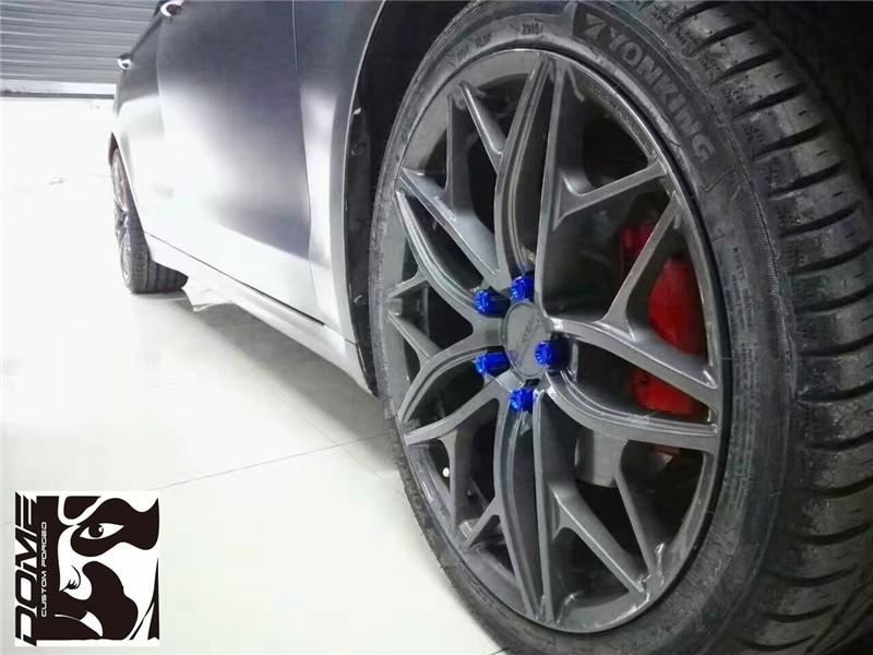 Semi Forged Wheels Replica Alloy Wheels For Bmw Dome 104
