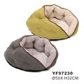 Furry Pet Dog Beds Accessories With Soft Plush