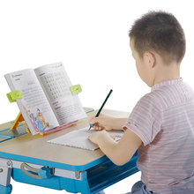 Portable plastic book reading stand for kids protect eyesight