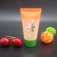 30ml hotel shampoo and body lotion plastic tube container