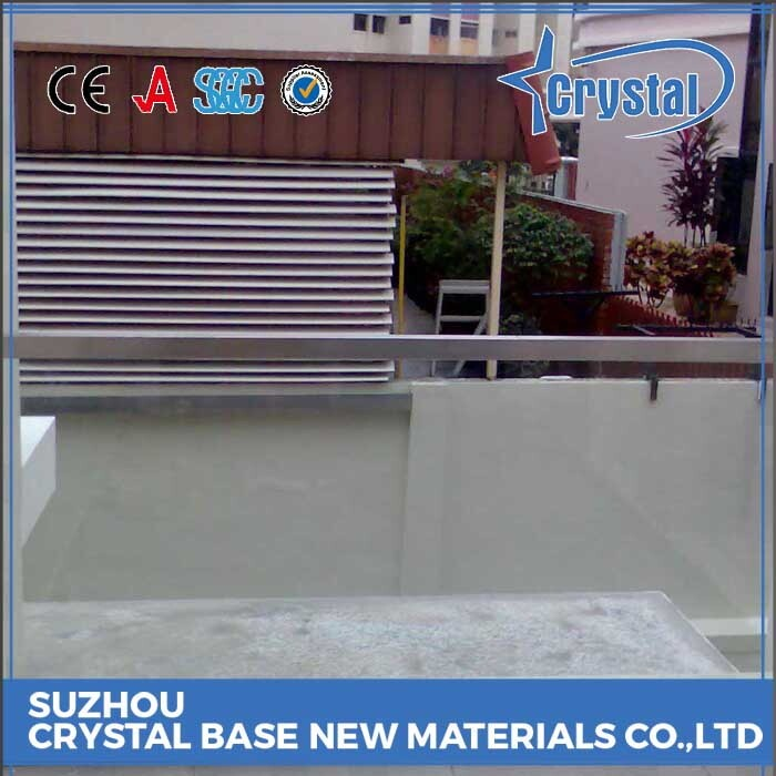 Trade Assurance Decoration Laminated Glass Stair Railing
