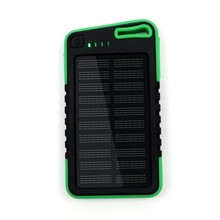 OEM/ODM factory 5000Mah solar power bank portable charger extended battery power bank