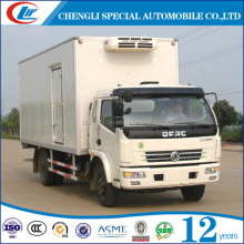 China brand supplier New Refrigerated truck 5T 6T Refrigerator cooling van for sale