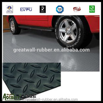 Factory sale rubber flooring for garages willow rubber flooring mat 3mm x 1m x 10m 4mpa used in gym