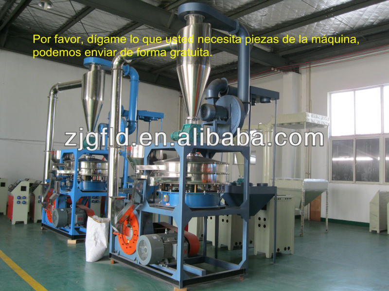 Plastic milling machine/high speed powder mill