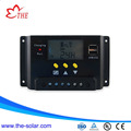 12V 10A LCD PWM solar charge controller