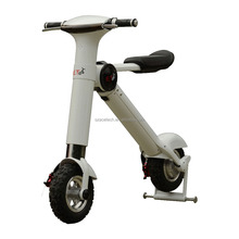 New adults mini motorbike 350w with aluminium Lithium battery 3 hours charging folding electric scooter city wheel