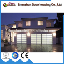 Security aluminum garage doors sectional polycarbonate door best quality made in china/sectional
