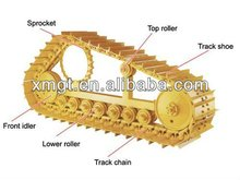 Heavy equipment spare parts ,undercarriage parts for bulldozer D4H,D5,D5B,D6C,D6H,D6R,D6M,D6N,D7F,D7G,D7H,D8N,D8K,D9