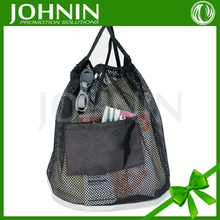 Wholesale Pretty Quality Strong Stitched Mesh Drawstring Bag