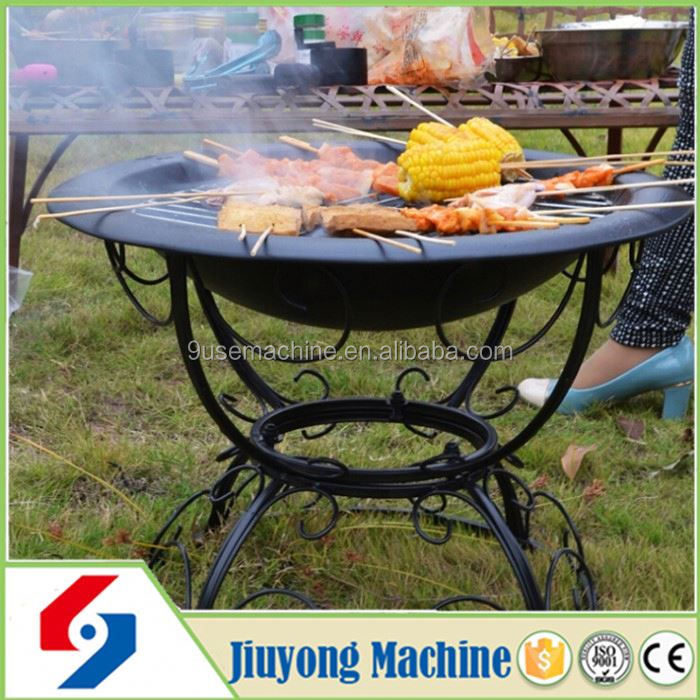 2015 new design cast iron grill for barbecue