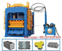 investment in ethiopia QT4-15 popular zcy-200 paving brick making machine, brick force making machine south africa