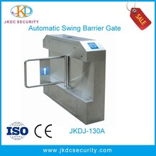 Chinese Best Reliable Manufacturer RFID remote control intelligent swing barrier gate operator for supermarket
