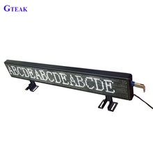 Semi-outdoor running message scrolling led sign display