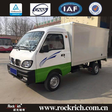 Environmental 4x2 1T capacity electric cargo van box truck for sale