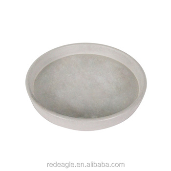 natural stone or concrete homewares food or fruit serving tray concrete round tray