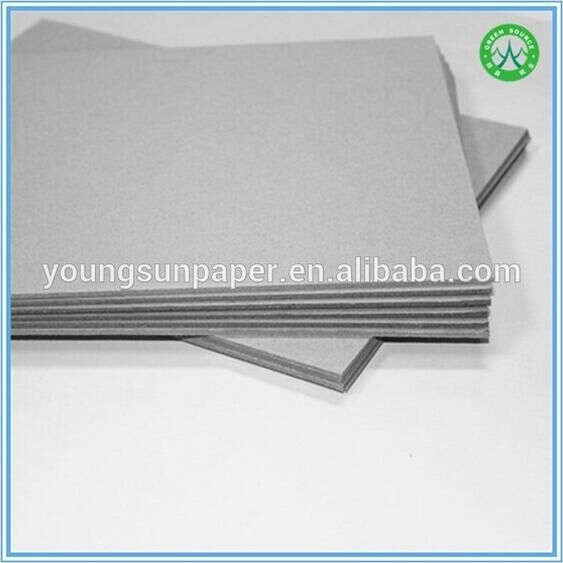 Laminated grey card board paper foam board stoklot in sale