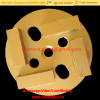 100mm Metal Bond Diamond Shoes Diamond Floor Grinding Disc For Concrete