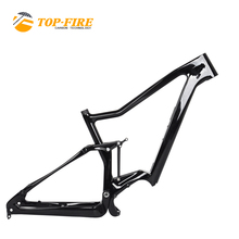 TOP FIRE 29er ba-fang motor battery 36V 250W 500WH enduro electric mountain bike full suspension carbon MTB frame FM-MD11