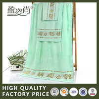 High Quality 100% Cotton Soft Bamboo Fabric Face Towel In Stock Promotion