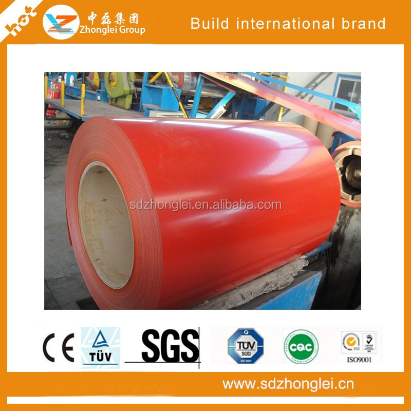 prepainted galvanized steel sheet,Ction volume PPGI price
