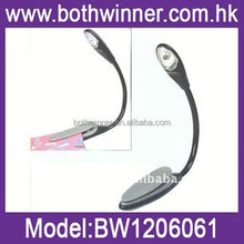 Super Bright LED Clip Read Reading Book Light,k185 led flat reading light