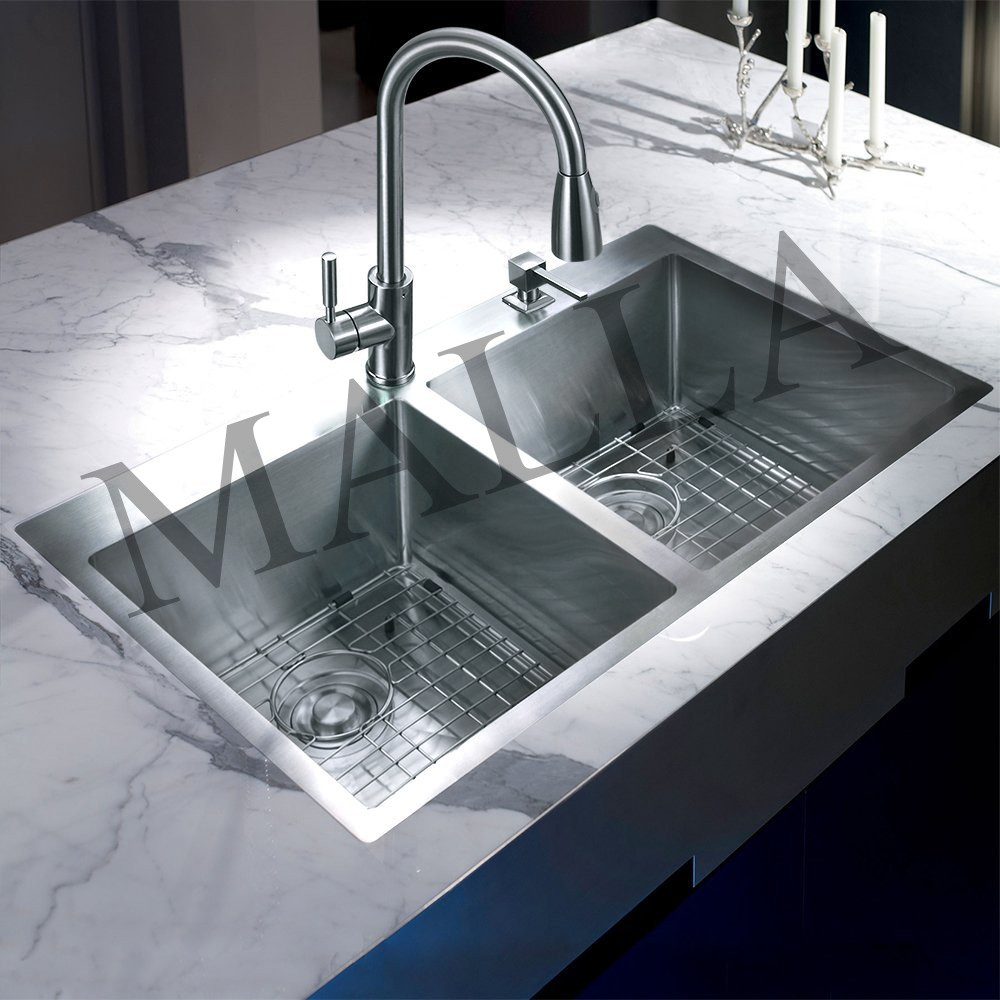 Brushed Surface UPC Certified Factory Price Vegetable Washing Sink For Kitchen