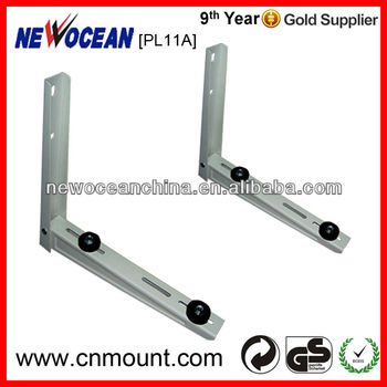 UK/USA/Italy market 2017 new design floor air conditioner bracket stainless steel