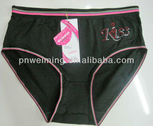 wholesale satin fashion girl underwear