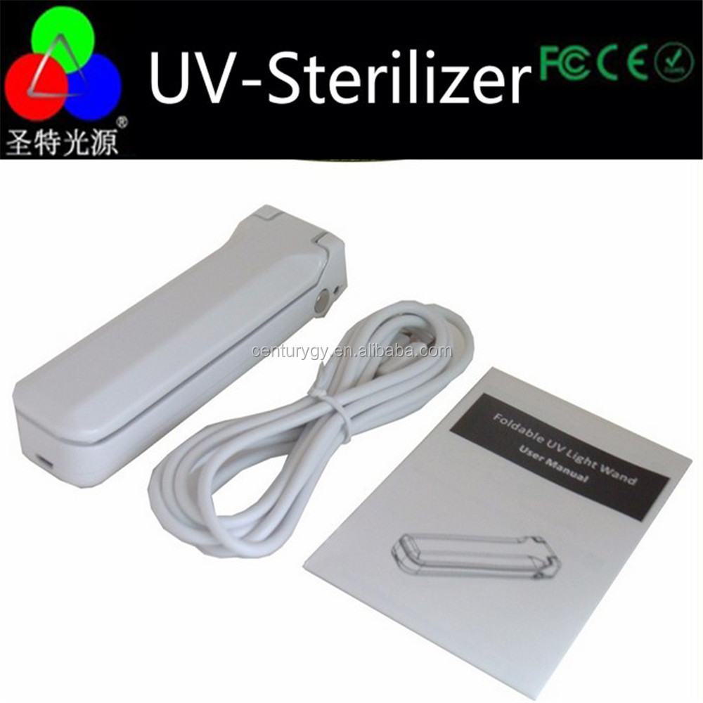 5V USD Protable UV sterilizer for cell phone with households, travel easy to bring