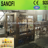Linear type edible cooking oil filling machines