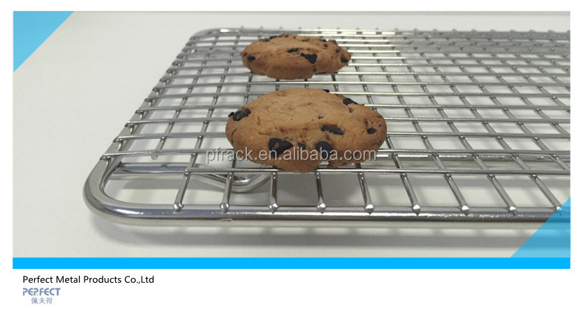 "PF-BBR01 8.5""x12"" stainless steel 304 cooling rack/baking rack"
