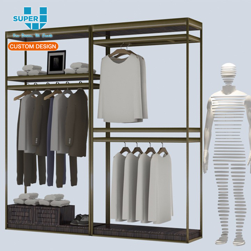 Wire Shelving Accessories,Metal Hanging Clothes Display Racks - Buy ...