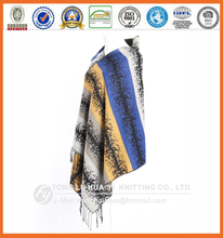 winter woven 100% acrylic new product fashionable scarf