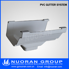 5 inch k-style cheap pvc guttering with good price