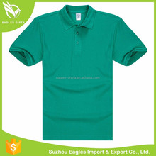 Men Cotton Color Combination Collar Design Plain Free Shipping Polo T-Shirt